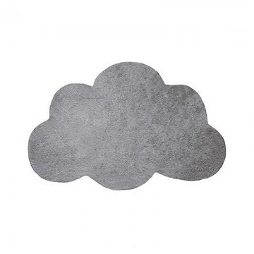 Alfombra Nube gris oscuro h0347