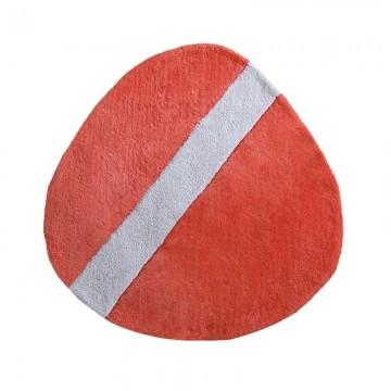 Alfombra ovalo poppy red H0182