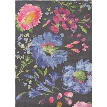 Kippen Black Flower 18705
