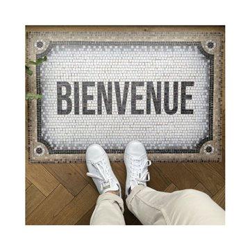 Mosaique Bienvenue Beige