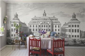 Mural 657-31 Löfstad Slott Graphite