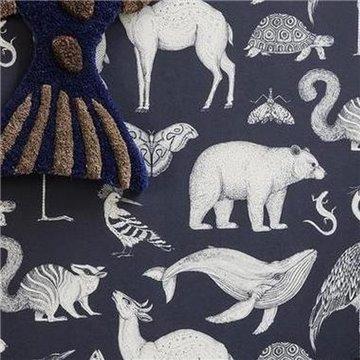 Katie Scott Animals Blue