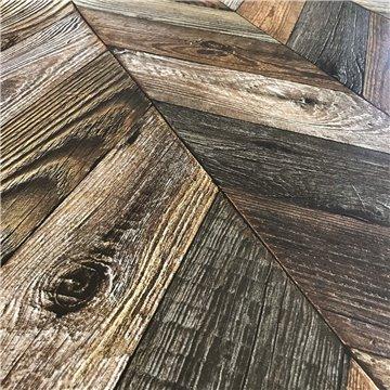 Alfombra Parquet Chevrons Pin Brut Antique Augusta 150 X 198 cm