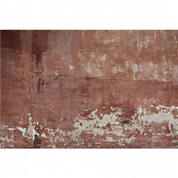 Red Patina Wall DOM414