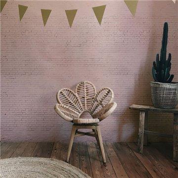 Pink Brick Wall DOM403