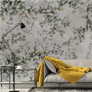 Mural Flower Wall