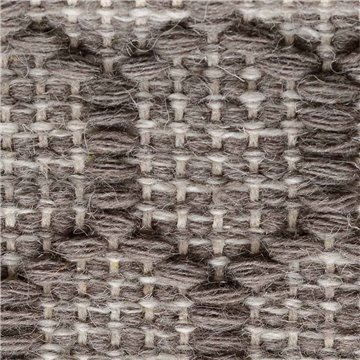Liser Wool. Detalle Grey Natural Rotated