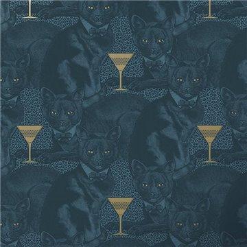 Cat-titude Fierce Blue DVS076