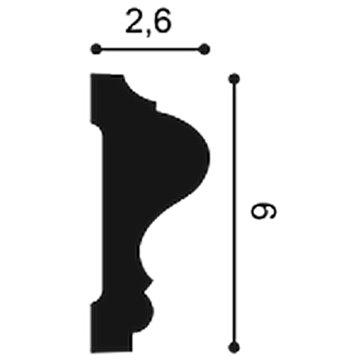 MOLDURA P8020F