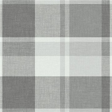 Madaket Dark Grey Textured Plaid ECB81108