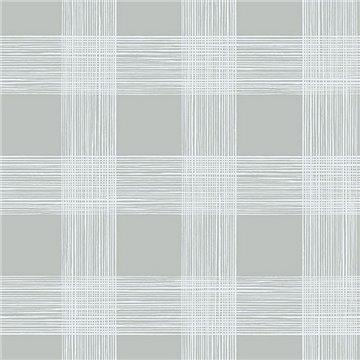 Scarborough Grey Striated Plaid ECB80908