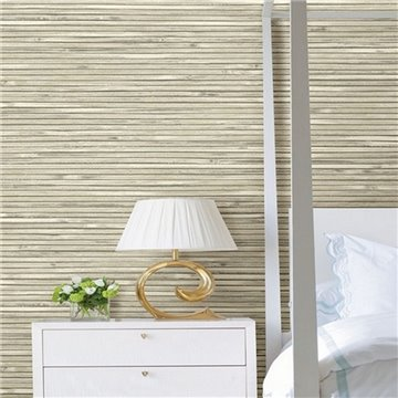 Bellport Ivory Textured Wood Slats ECB81305