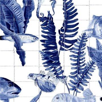 Bank of Fish Tiles 9500024