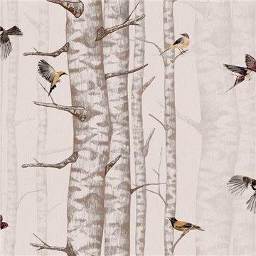 Birch Trees Pink 9500043