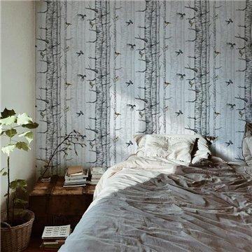 Birch Trees Grey 9500040