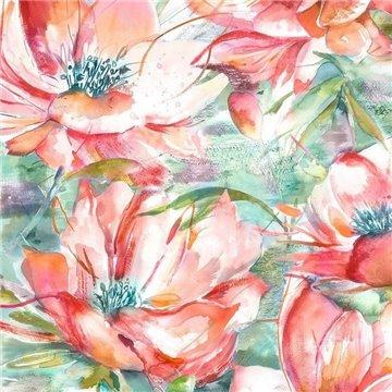 Dusky Blooms Russet Wallart 1564583315