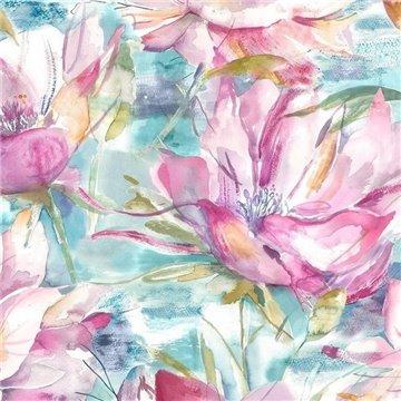 Dusky Blooms Sweetpea Wallart 1564583054