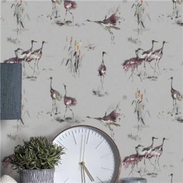 Cranes Tourmaline Wallart 1524827290