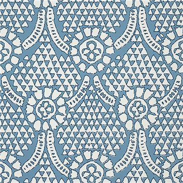 Chamomile Blue and White T14314