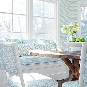 Denver Spa Blue and Green T14328