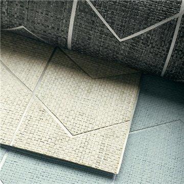 Cordoza Weave Spa Blue and Silver T27027