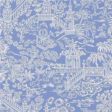 FP761007 Les pagodes Bleu