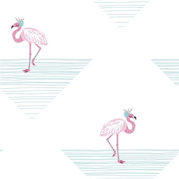 Flamingo Triangle DA61701
