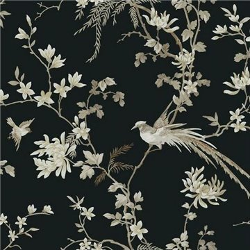 Bird And Blossom Chinoserie Removable kt2173