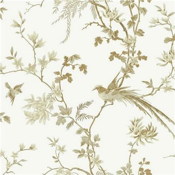 Bird And Blossom Chinoserie Removable kt2174