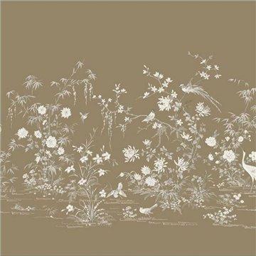 Flowering Vine Chinoiserie Mural kt2263