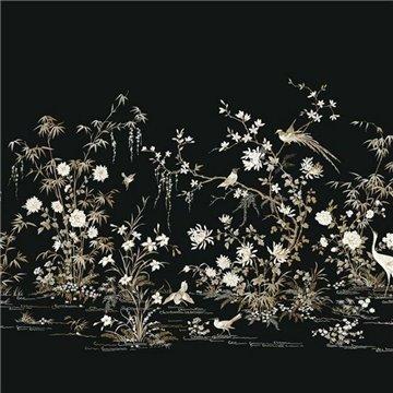 Flowering Vine Chinoiserie Mural kt2264