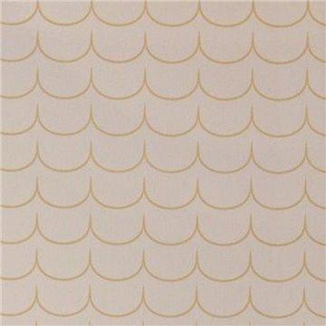 Drop Curtain Greige Golden Brown 137-01