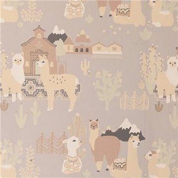 Lama Village Soft Grey 143-01