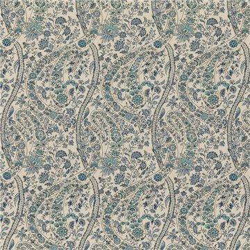 Bukhara Paisley Blue BP108351