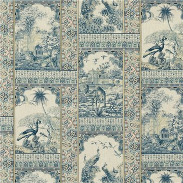 Indienne Toile Red Blue BP108341