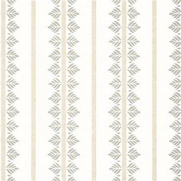 Fern Stripe Beige AT15104