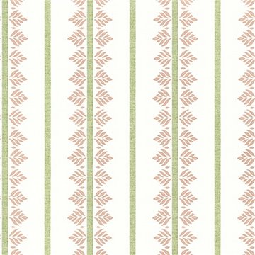 Fern Stripe Blush AT15100