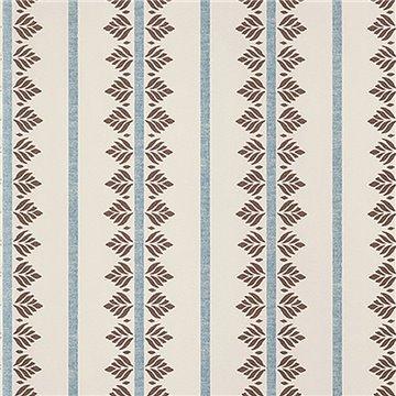 Fern Stripe Brown and Stripe AT15106