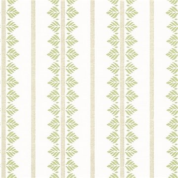 Fern Stripe Green AT15102