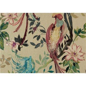 Bird Sonnet Lacquer Luxury Wall Mural 1209-157-01