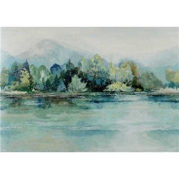 Lakeside Fern Green Luxury Landscape 2109-155-02