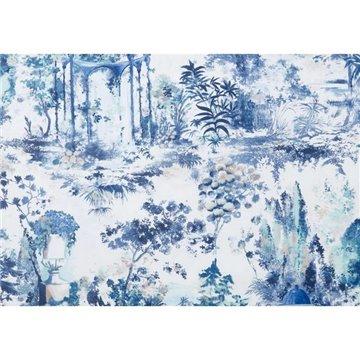 Pavilion Lupin Blue Luxury Toile 2109-153-02