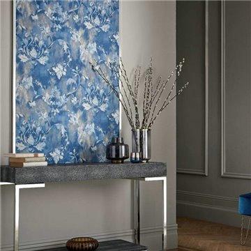 Ornamenta Indigo Blue Luxury Damask 2109-156-04