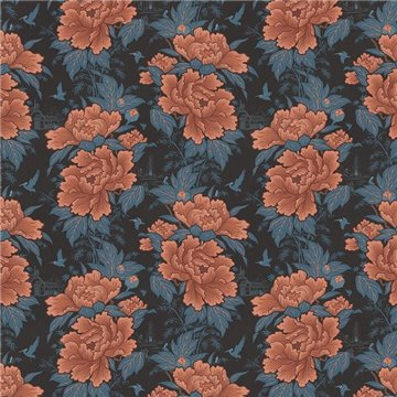 Bloomin Marvellous Coral Charm DVS091