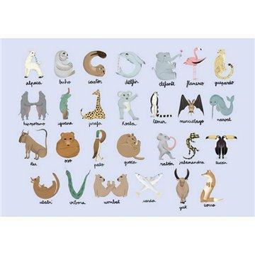 Animal Alphabet Azure 9700142