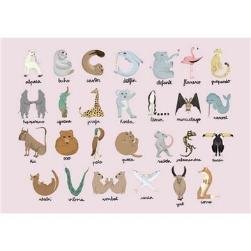 Animal Alphabet Pinky 9700141