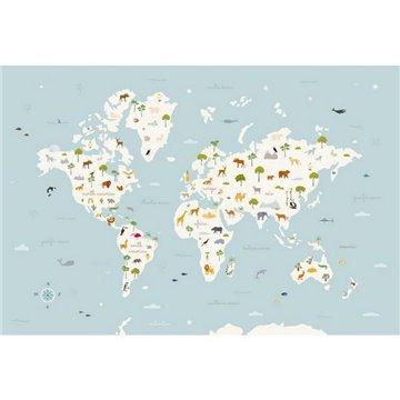 Animal Map Aqua 9700050